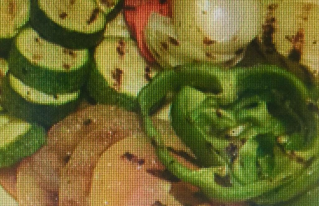 Vegetais Variados na Grelha