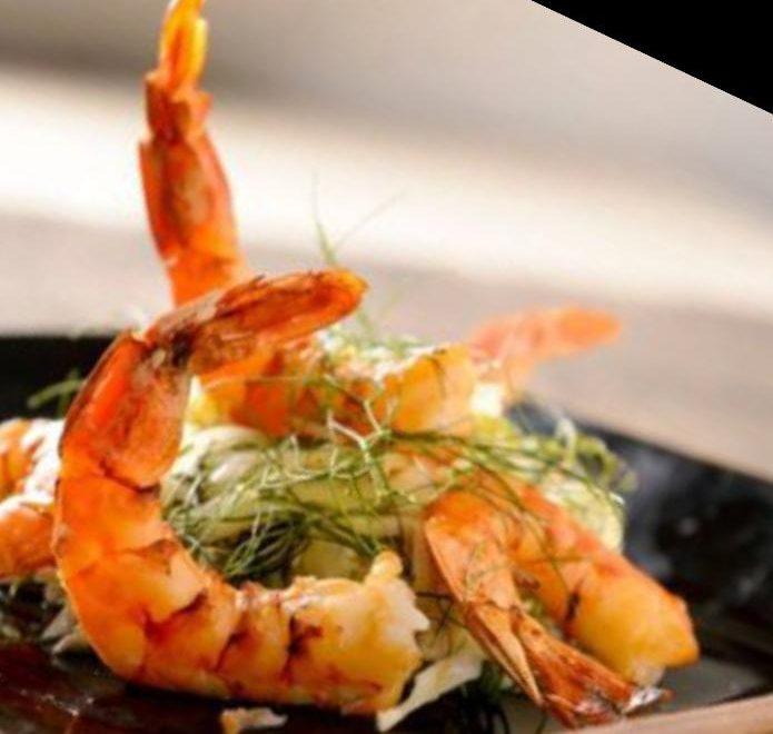 Churrascos : Namorado e camarões Defumados