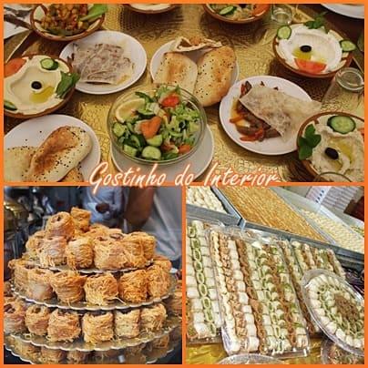 Sobre a Gastronomia Árabe